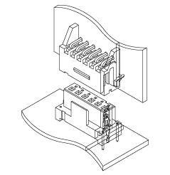 Schematic photo of JL Connector