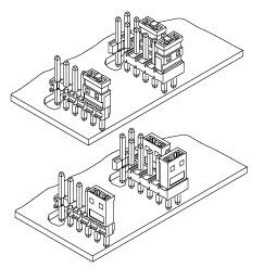 Schematic photo of JM connector
