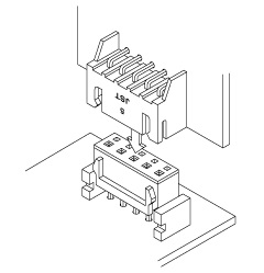 Schematic photo of JQ Connector