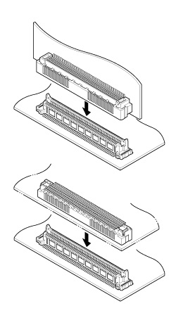 Schematic photo of JUX Connector