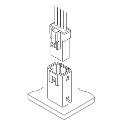 Schematic photo of JWPF Connector
