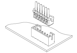 Schematic photo of KR Connector