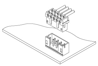 Schematic photo of KRD Connector