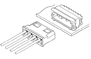 Schematic photo of LC Connector L type