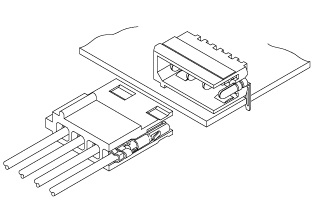 Schematic photo of LC Connector