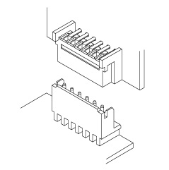 Schematic photo of MQ Connector