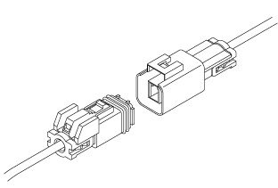 Schematic photo of MWP Connector