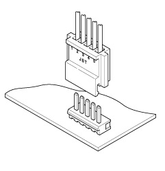 Schematic photo of NH Connector
