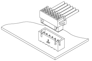 Schematic photo of NR Connector