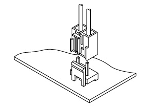 Schematic photo of NV Connector
