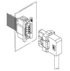 Schematic photo of OTZ Connector