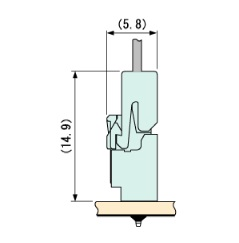 Schematic photo of PAF Connector