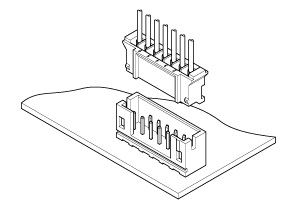 Schematic photo of PH Connector