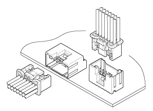 Schematic photo of PUD Connector
