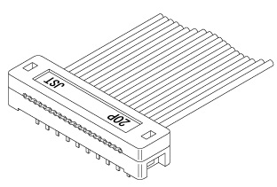 Schematic photo of RC Connector