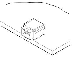 Schematic photo of RV Connector