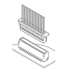 Schematic photo of SH Connector