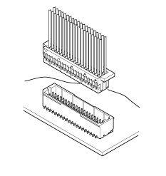 Schematic photo of SHD Connector