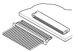 Schematic photo of SHL Connector