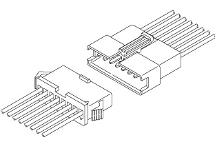 Schematic photo of SM Connector