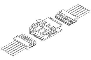 Schematic photo of THR Connector