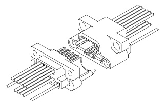 Schematic photo of TSD Connector