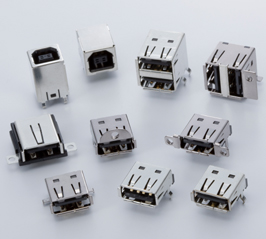 Close up image of UB Connector