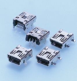 Close up image of UB Connector mini-B-type
