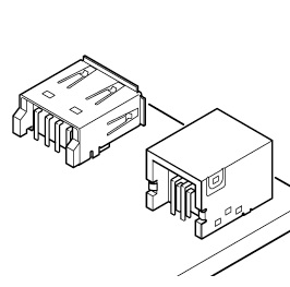 Schematic photo of UB Connector