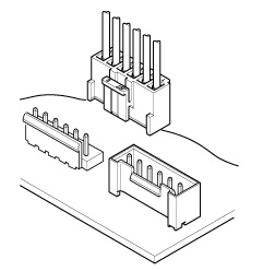 Schematic photo of VH Connector