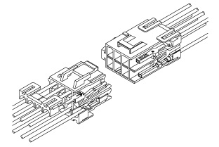 Schematic photo of VL Connector (W-W)