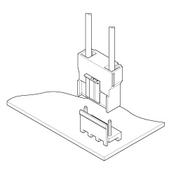 Schematic photo of VT Connector