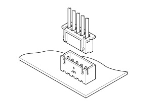 Schematic photo of XH Connector