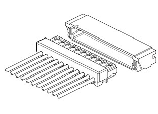 Schematic photo of XSR Connector