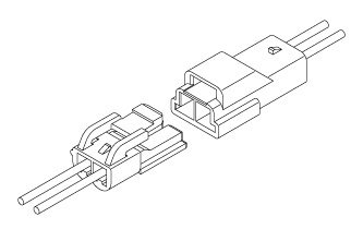 Schematic photo of YLN connector
