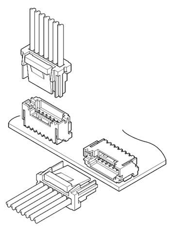 Schematic photo of ZE Connector
