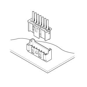 Schematic photo of XA Connector