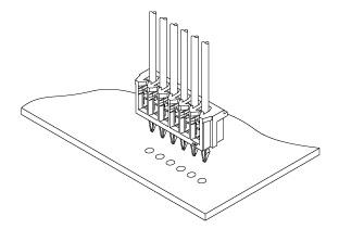 Schematic photo of DA Connector