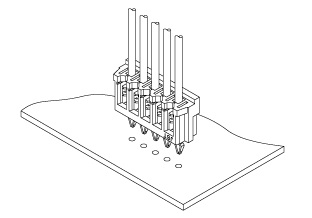 Schematic photo of DB Connector