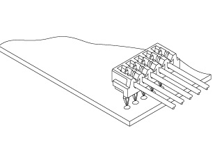 Schematic photo of DD/DS Connector