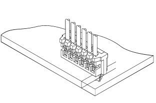 Schematic photo of ZA connector